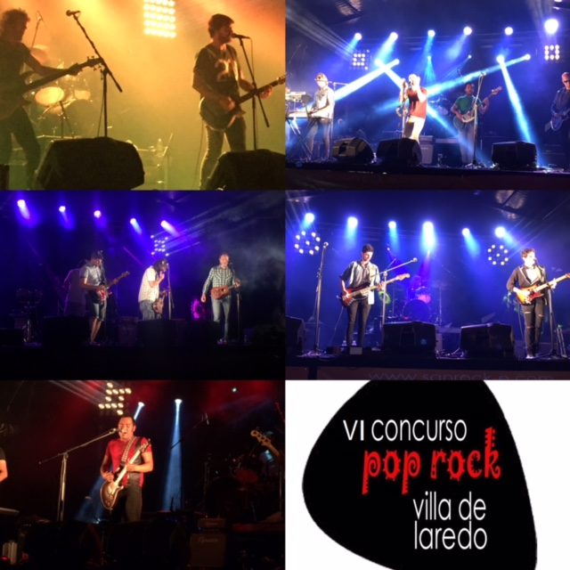 Final del VI Concurso Pop-Rock 'Villa de Laredo'